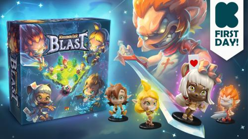 Krosmaster Blast: A tactical skirmish board game!