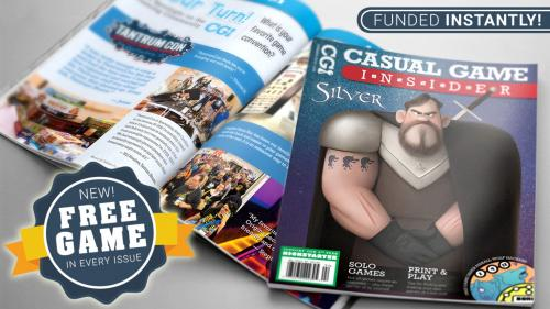 Casual Game Insider - Board Game Magazine (8th Year)