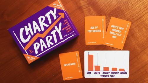 Charty Party: All Ages Edition — Absurdly Funny Charts Game