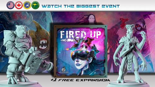 Fired Up - The unique arena board game