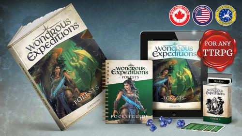Wondrous Expeditions: Forests - Roleplaying Guide