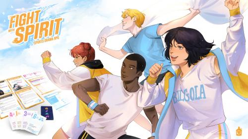 Fight With Spirit: A Sports Drama RPG