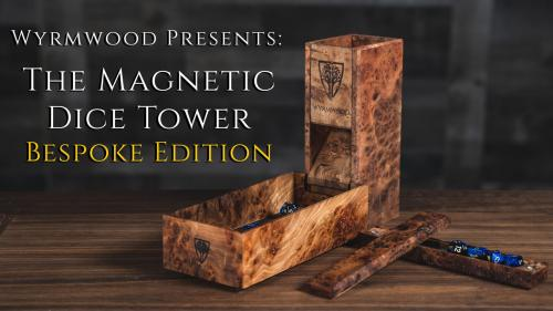 The Wyrmwood Magnetic Dice Tower System Bespoke Edition