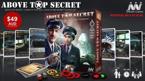 ABOVE TOP SECRET - The Official Re-Launch