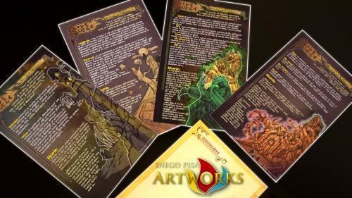 Print and Play Side Quests and epic stuff for any RPG System