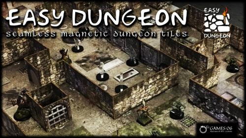 Easy Dungeon - Seamless Magnetic Dungeon Tiles