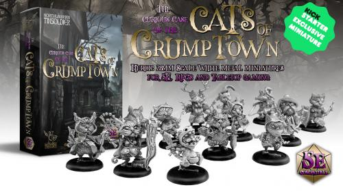 The Curious Case of the Cats of Crumptown - 28mm Miniatures