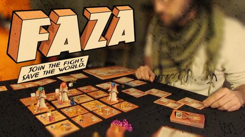 FAZA: Join the Fight, Save the World