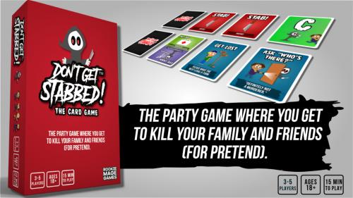 DON T GET STABBED! The Card Game