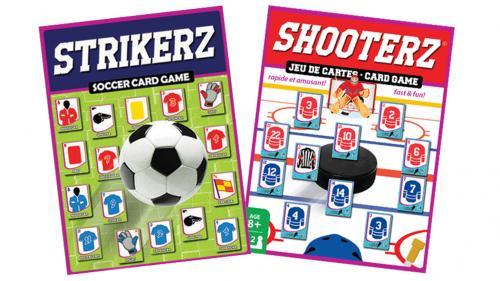 STRIKERZ & SHOOTERZ card games