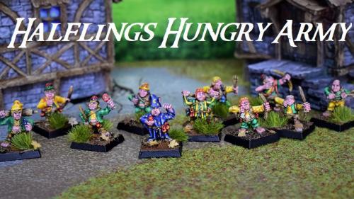 Halflings Hungry Hungry Army