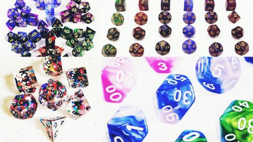 LUMO : The colourful gamers dice has arrived
