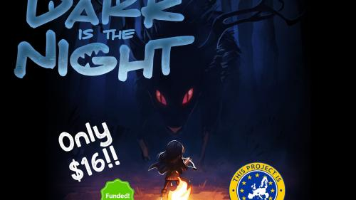 Dark is the Night (a 2-player game of hunt or be hunted)