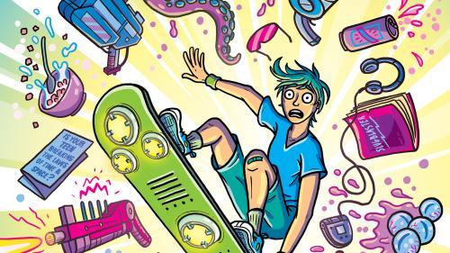 Slugblaster | Kickflip Over a Quantum Centipede