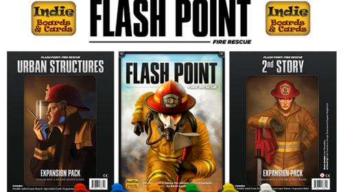 Flash Point: 2nd Story, Urban Structures & FF Figures