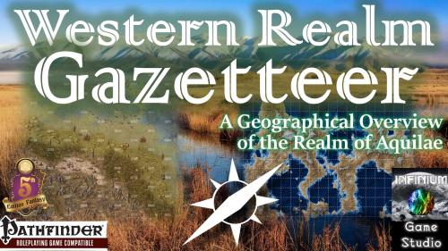 Aquilae: Western Realm Gazetteer (Pathfinder/5E)