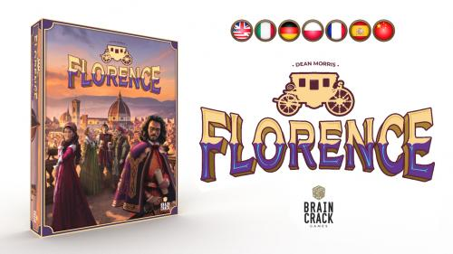 FLORENCE – Opulent Area Control for 1-5 Players