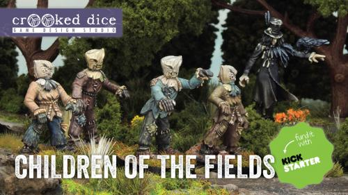 Children of the Fields - Folk Horror 28mm Miniatures
