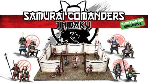Samurai Commanders: Jinmaku