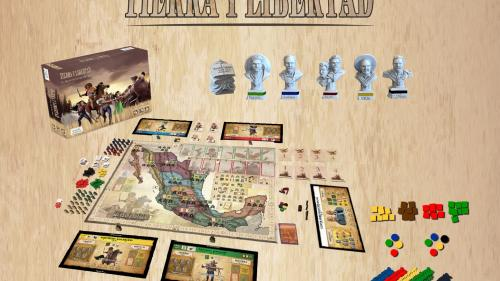 Tierra y Libertad the Revolution Game 2nd edition