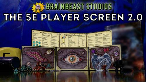 The 5E Player Screen 2.0