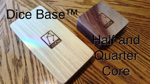 Dice Base™: Quarter and Half Core Dice Vaults and Mini Cases