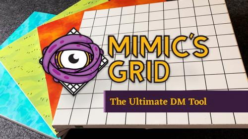 The Mimic s Grid: The only any-erase magnetic RPG game board