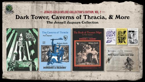 Judges Guild Deluxe: Dark Tower, Caverns of Thracia, & More