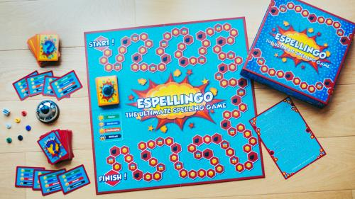 Espellingo - The Spelling Boardgame