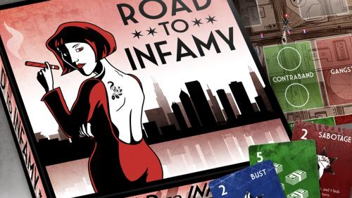 Road To Infamy - Gangster Board Game