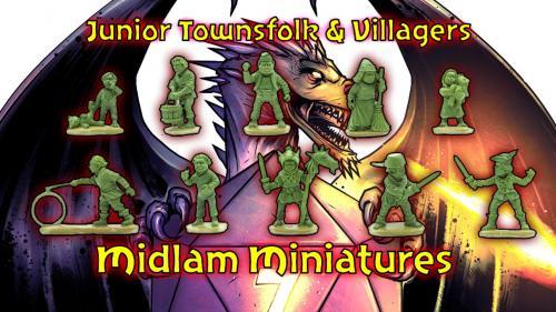 Junior Townsfolk & Villagers