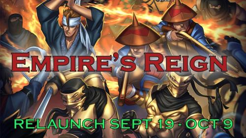 Empire's Reign for The Ninja Crusade 2nd Ed (Relaunch)