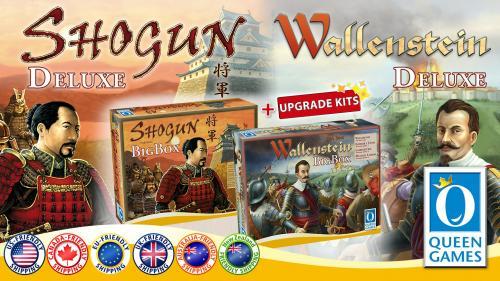 Shogun & Wallenstein Deluxe Upgrade Kits