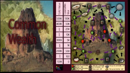 Common Wealth, a brand new board game.