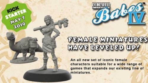 Bombshell Babes 4 - Female Miniatures