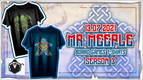 Board Games T-shirts - Season 3
