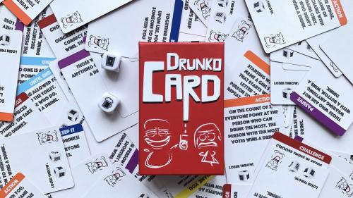Drunko Card - Game Nights Now Officially Forgettable