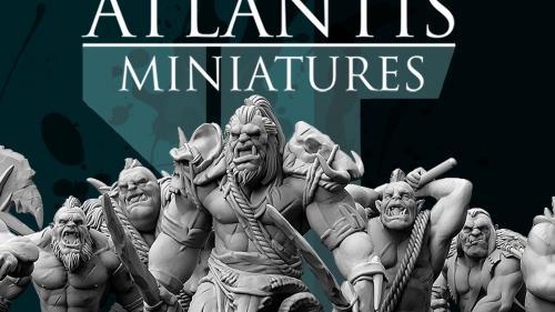 Atlantis Miniatures- 28mm Goblins,Orcs and Trolls