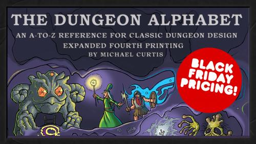 Dungeon Alphabet 4th Printing