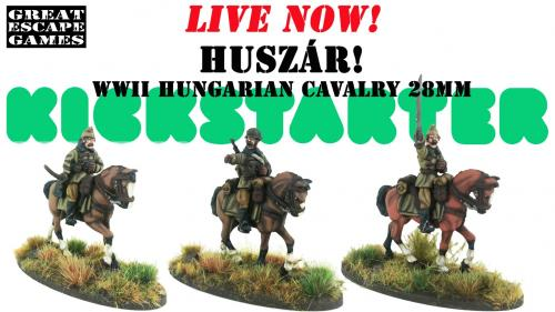 Huszár! Hungarian WWII Cavalry 28mm scale