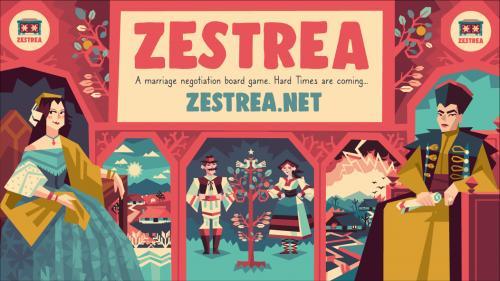 ZESTREA - a marriage negotiation board game