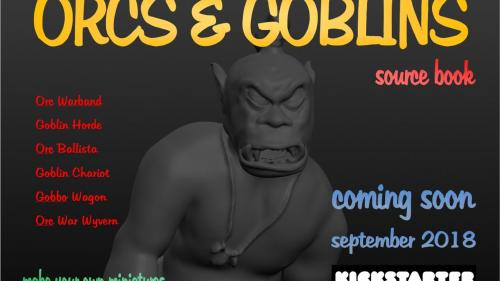 Modelling Miniatures - Orcs & Goblins Source Book