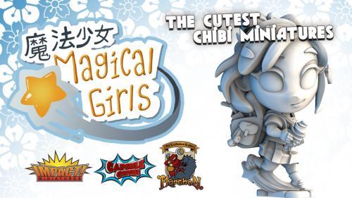 Chibi Capsule Magical Girls & Monsters