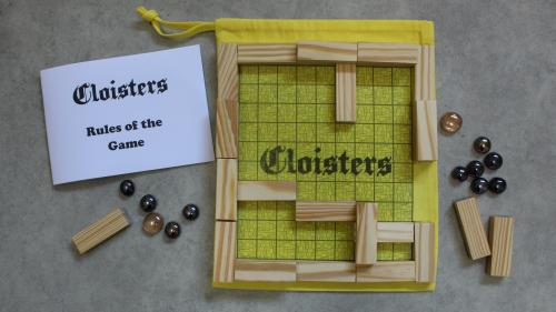 Make 100: Cloisters - the game