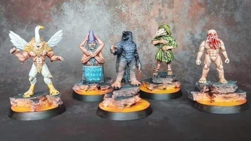 Hell Awaits... Wave 5 - Goetia Demon minis