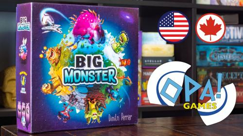 Big Monster - A Tile Drafting Game of Bizarre Creatures