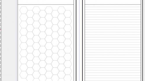 A5 Gamers  Notebook Hex Version