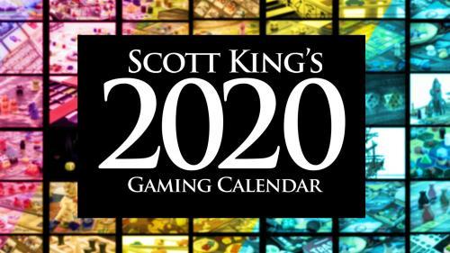 2020 Gaming Calendar