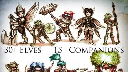Elven Adventurers Box Set