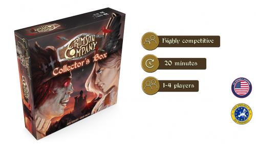 Crimson Company - Ragnarok (Expansion+Collector s Box+App)